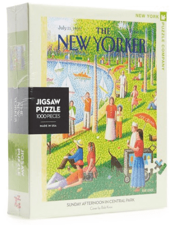 The New Yorker - Sunday Afternoon In The Park Jigsaw Puzzle
