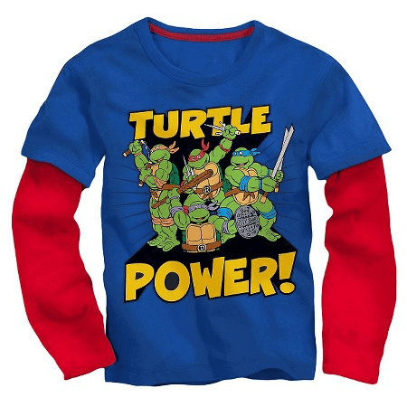 Toddler Boys TMNT Long Sleeve T-Shirt