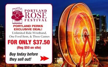 Portland Rose Festival – CityFair Rides Ride Bracelets for $37.50