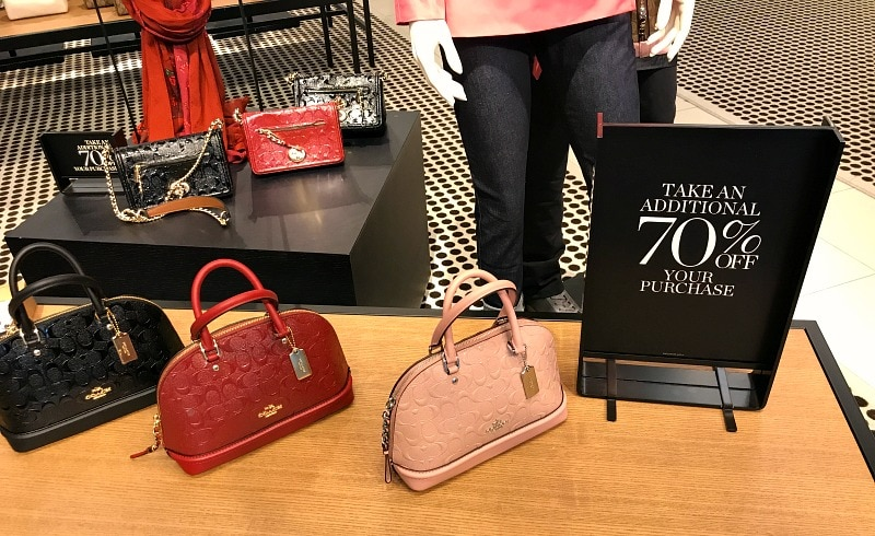 Coach Factory Outlet Store Sales