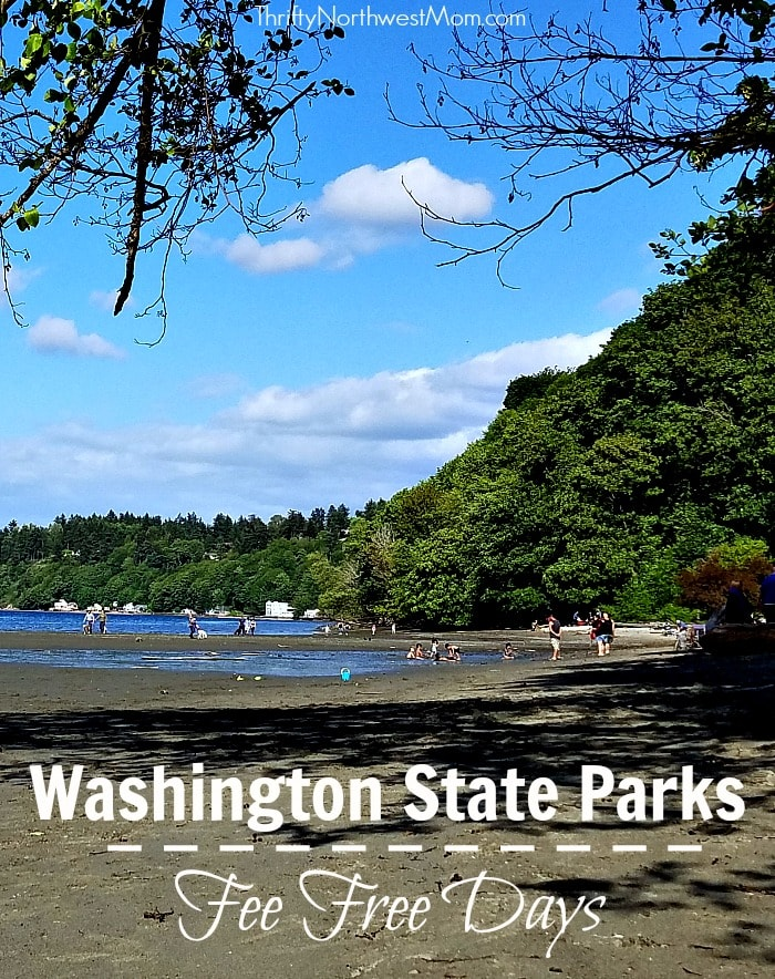 Free Washington State Park Days