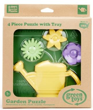 Green Toys 3D Garden Puzzle