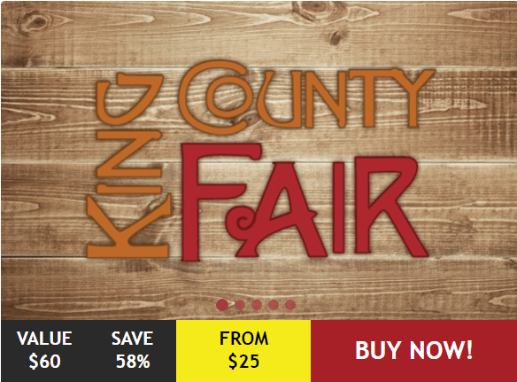 King County Fair Discount Packages – Tickets As Low As $8.75!