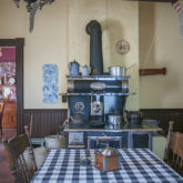 Kitchen at the historic Stewart Farm