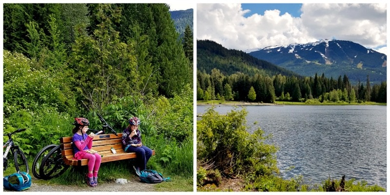 Lost Lake Picnic at Whistler