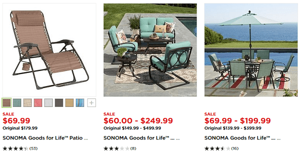 Spectacular Patio Furniture Sale