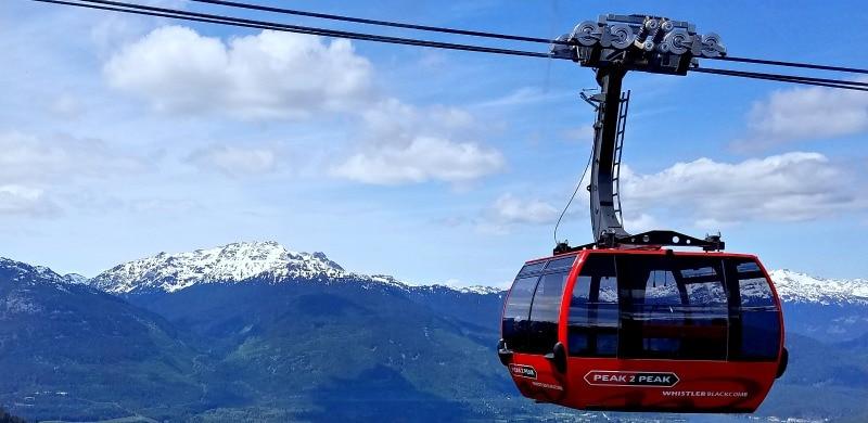Peak to Peak Gondola at Whistler