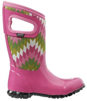 Pink & Green Native North Hampton Boot