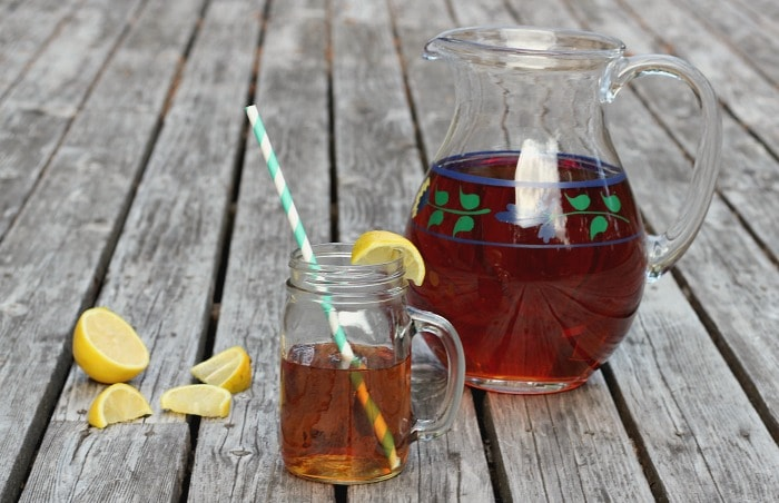 Try Sun Tea for a simple and frugal drink for summertime
