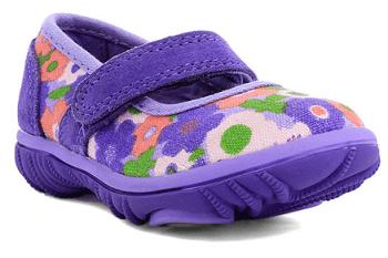 Violet Spring Flower Hopscotch Mary Jane