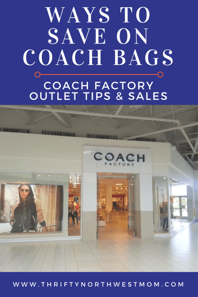 Coach Factory Outlet Sale & Tips - Ways to Save on Coach Bags