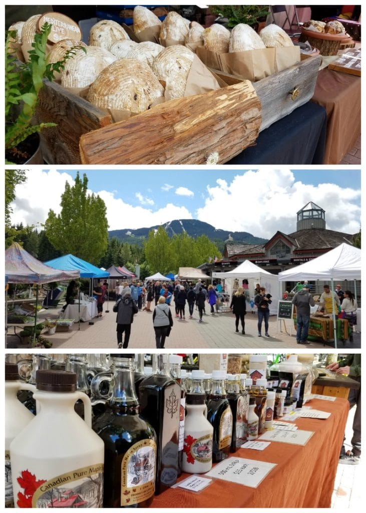 Whistler's Farmers Market on Sundays