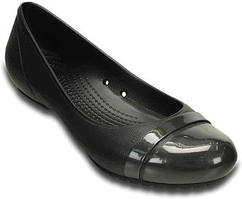 Women's Cap Toe Flat