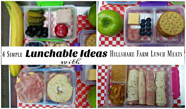 4 simple back to school lunch ideas