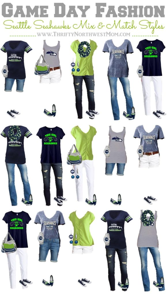 Seattle Seahawks Clothing For Women 15 Mix Amp Match