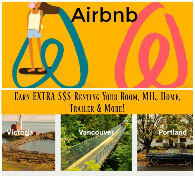 Earn an Extra $400 a week Hosting with Airbnb (Earn Money From Home Renting Out Your Extra Space)!