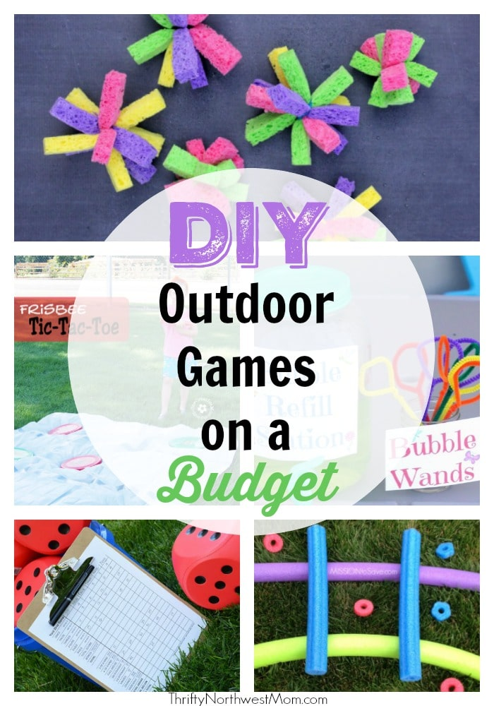 DIY Outdoor Summer Games on a Budget