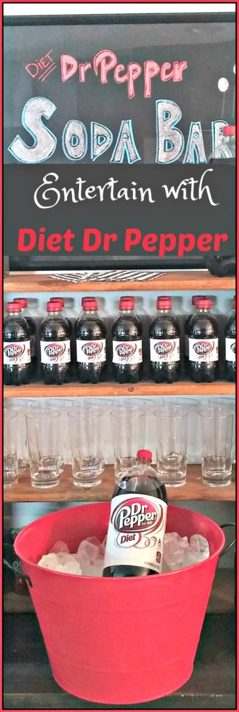 Soda Bar for Summer Refreshments with Diet Dr Pepper + Enter To Win Great Prizes with #SummerFUNd Sweeps!