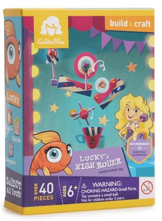 GoldieBlox Lucky's High Roller Construction Toy $5.99 (Reg $9.99)