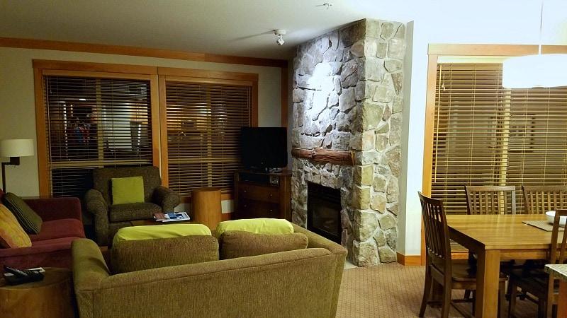 Legends Suite Room at Creekside Village