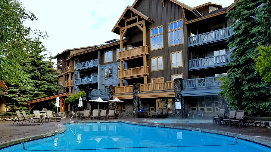 Legends of Whistler Creekside Village Pool
