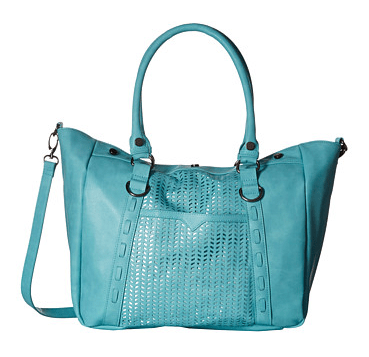 Madden Girl Mglite Perforated Satchel