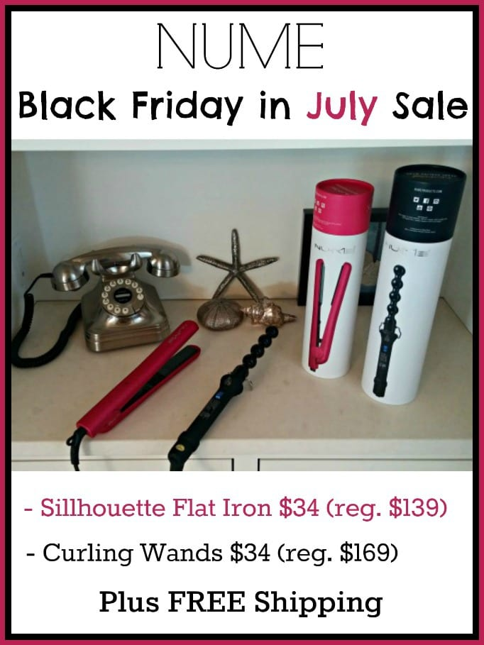NUME Black Friday in July Sale