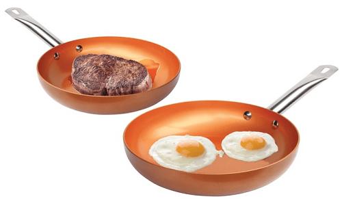 Nonstick Copper Frying Pan
