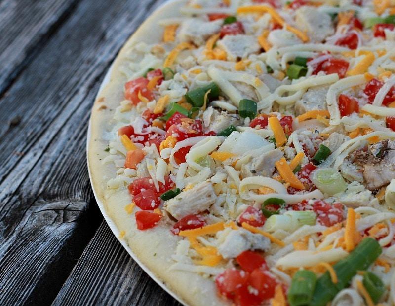 Papa Murphy's Garlic Chicken Pizza