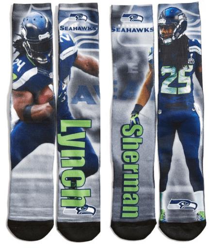 Swahawks Socks Only $9.98!