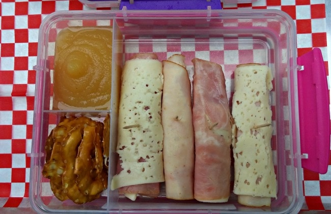 meat and cheese roll ups