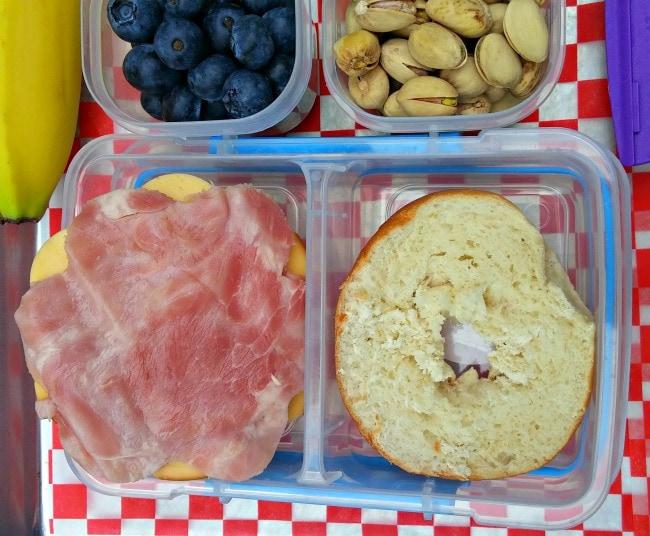 mini bagel lunchables