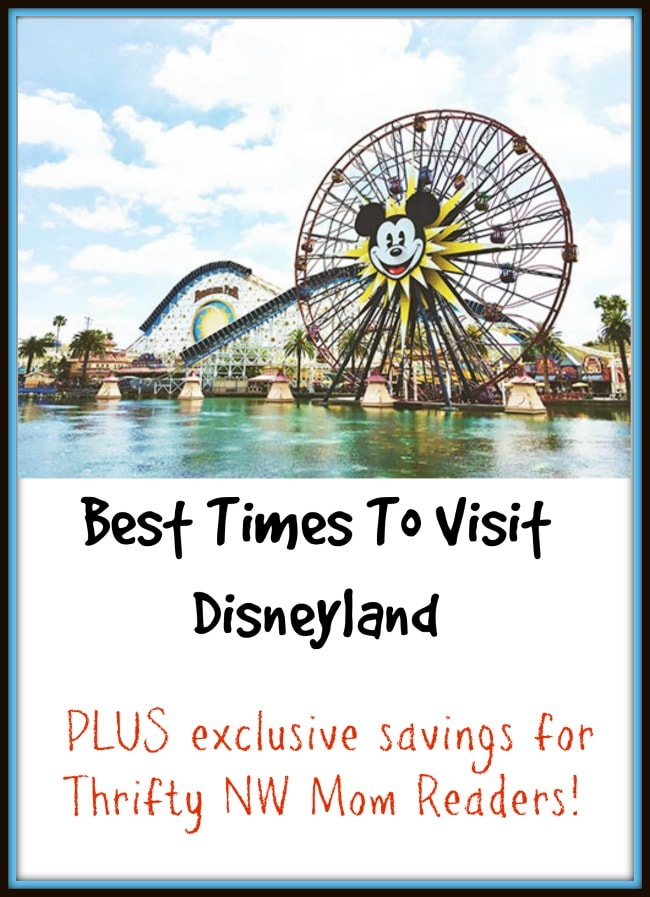 Best Times To Visit Disneyland In 2017 Plus Put Your