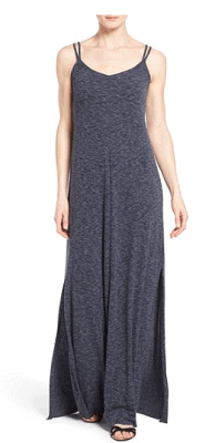Caslon V-Neck Maxi Tank Dress