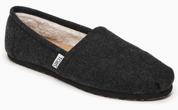 Classic Faux Shearling Lined Slip-On Shoe