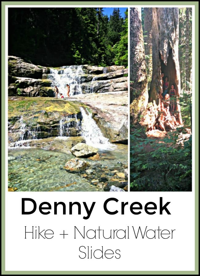 Denny Creek Hike & Natural Water Slides Review (One of Our Favorites!)