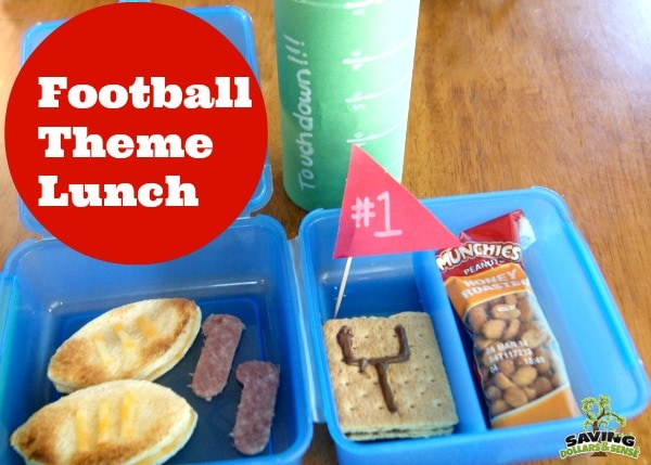 Football-Theme-Lunch