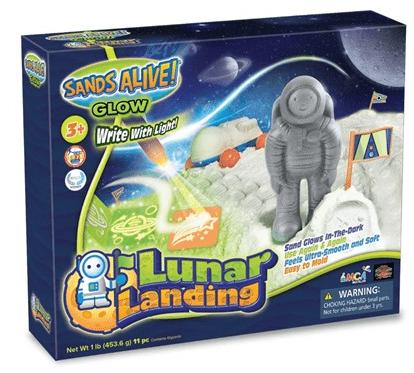 Play Visions Sands Alive! Lunar Landing Kit $16.99!