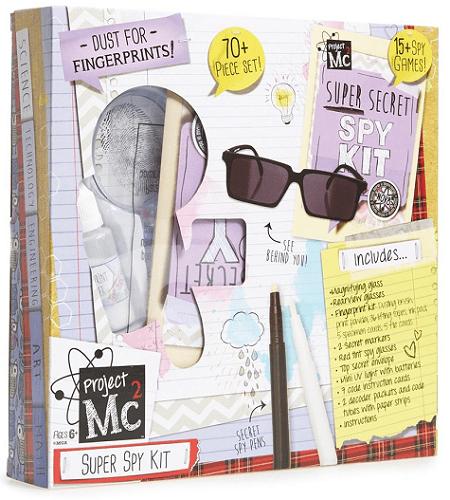 Poof-Slinky MC2 Super Spy Detective Fingerprint Kit $14.40 (Reg $24)
