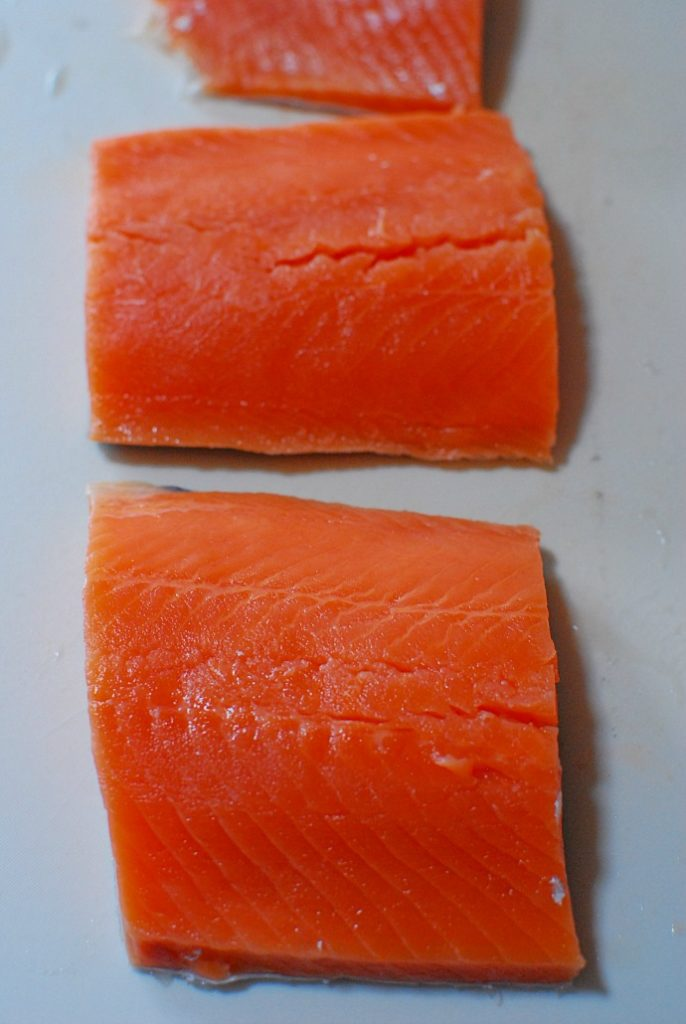 Salmon Prepared for Firecracker Salmon Recipe