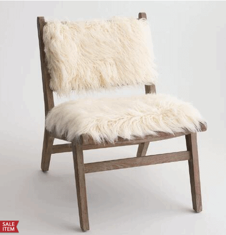 Sheep Skin Chairs