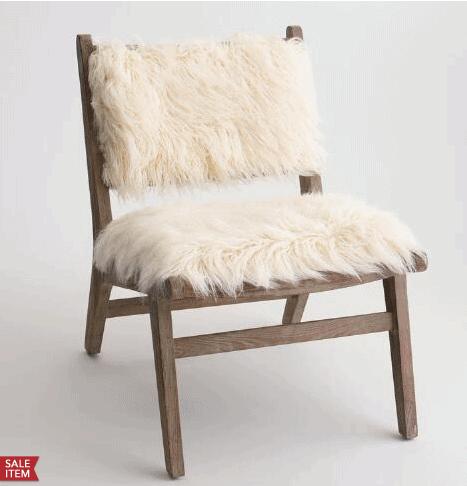 Sheep Skin Chairs