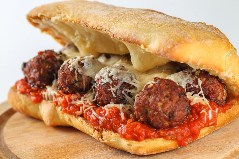 Subway-Meatball-Sub-healthy-copycat-version
