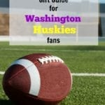 Washington Huskies Football Gift Guide