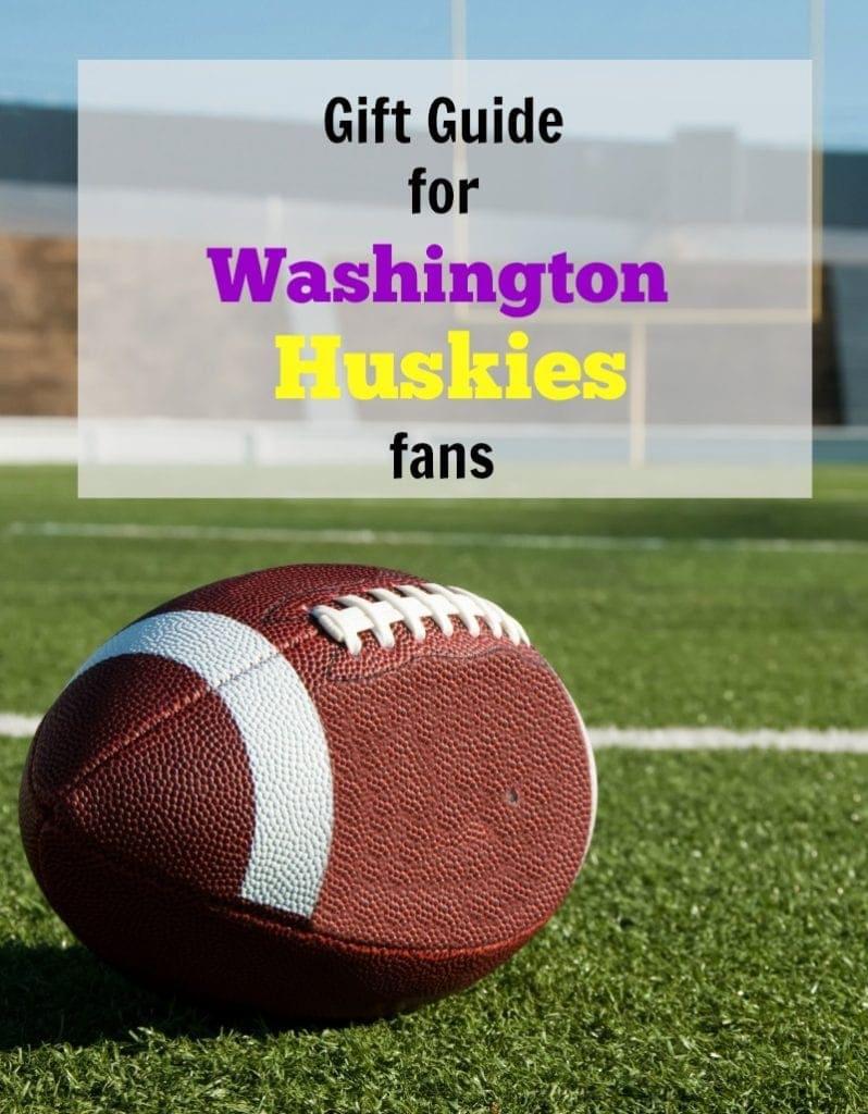 Washington Huskies Football Gift Guide for the Ultimate Fan!