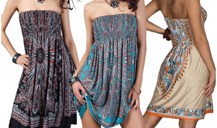 Women's Strapless Sundresses