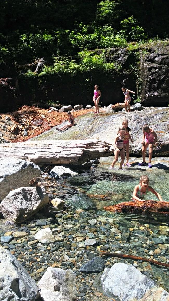 denny creek pools