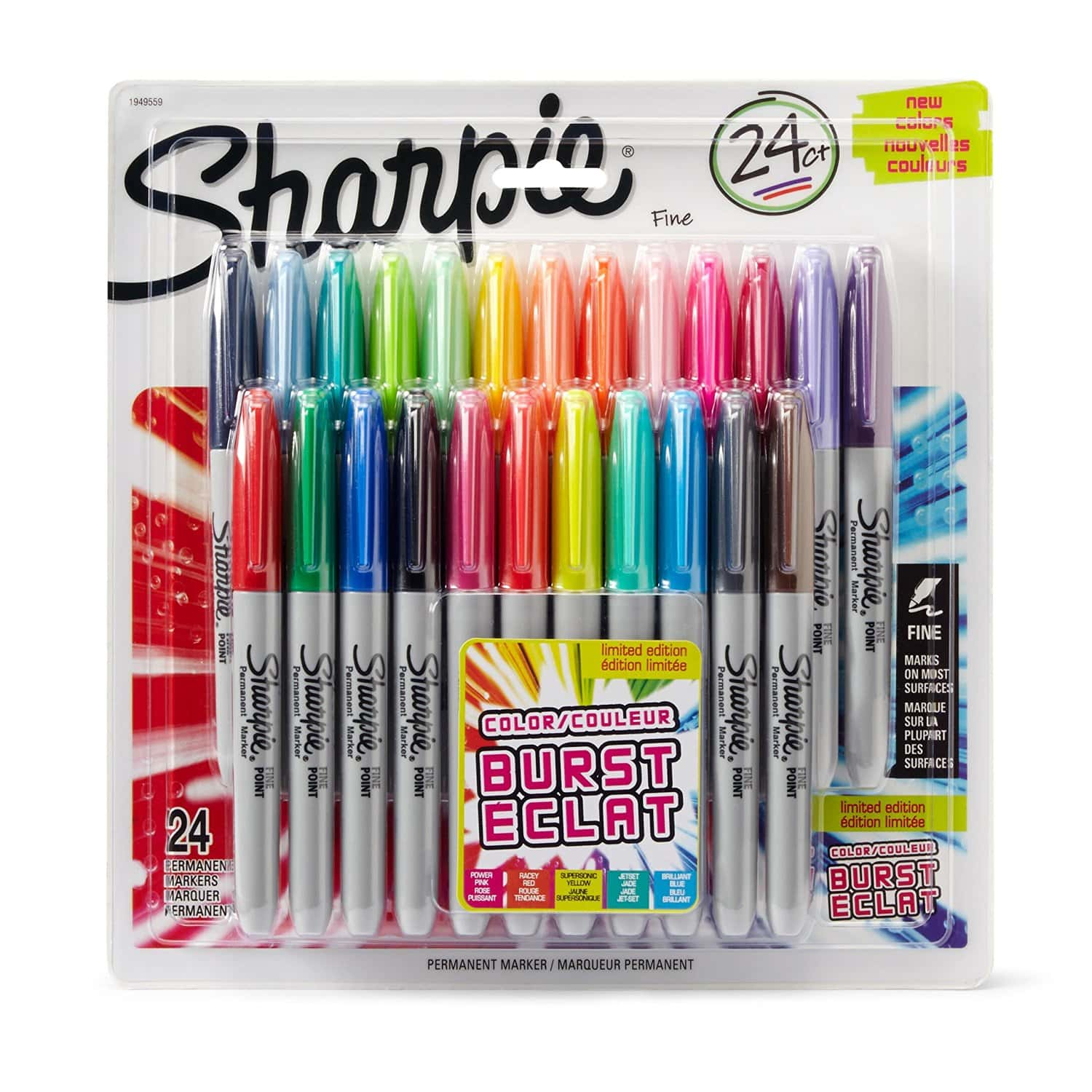 Sharpie Electro Pop Limited Edition Ultra Fine Point