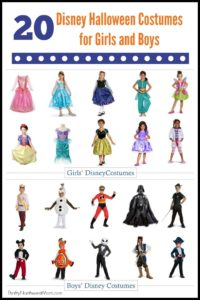 Disney Halloween Costumes for Girls and Boys