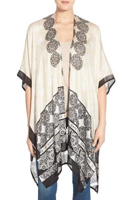 Hinge Medallion Print Kimono $19.20 (Reg $32)